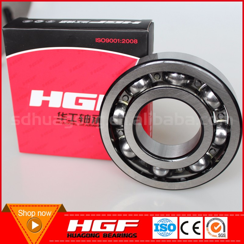 High performance HGF brand deep groov ball <strong>bearing</strong> 6200 10*30*9 mm