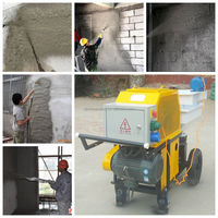 high quality and high quality concrete spray machine for sale
