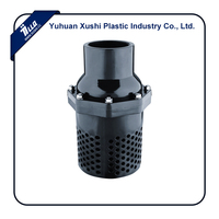 Plastioc Baffle Type Cartridge Farm PVC Foot Valve
