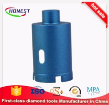 Diamond core drill bit with segment for reinforce concrete