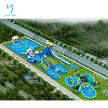 China suppliers inflatable water park summer amusement water games