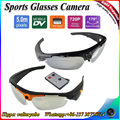 Factory New HD 720P Remote Control Mini Glasses Camera 170 Degrees lens + 5.0 Mega pixel Sunglasses DVR Eyewear Hidden Camera