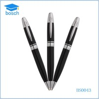 Fancy Metal Gel Ink Signature Ball Pen Black Roller Ball Pen