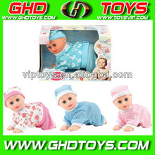 6.5 inch singing crawling children dolls for sale