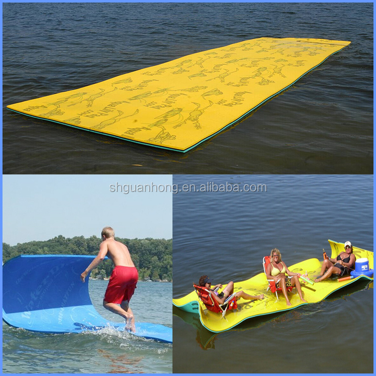 High quality pvc floating inflatable lounge chair, sea inflatable lounges, water floating mats