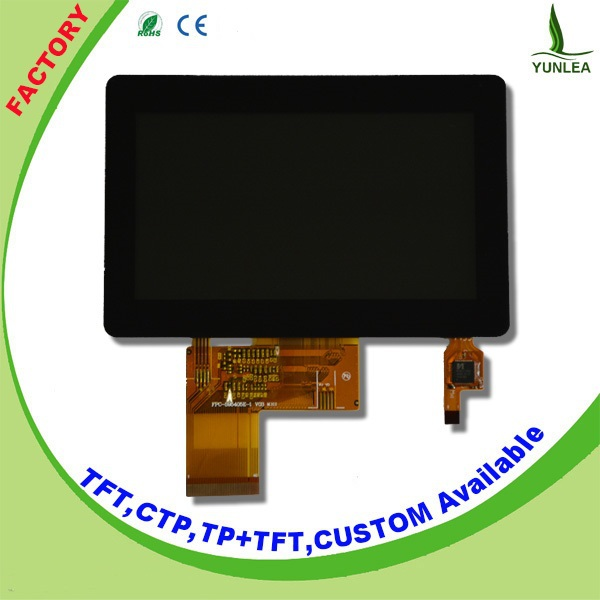 Yunlea LCD module low power 4.3 inch tft lcd display module