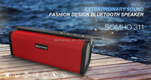 2016 promotional dual magnet wireless portable bluetooth speaker S311with magic bass sound