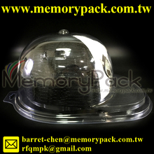 N B A MLB NFL Baseball Cap Flat Brim Fitted Hat Clear Display Case Holder plastic box packaging