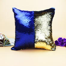 Wholesale 2017 Hot Selling Monogrammed Sequined Mermaid Pillow Cases