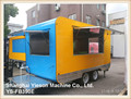YS-FB390E food truck mobile food trailer