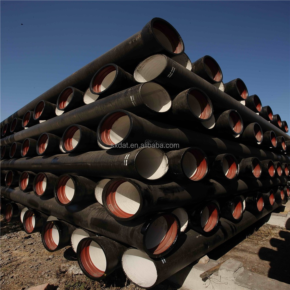 ductile iron k9 pipe from China/EN598/EN545