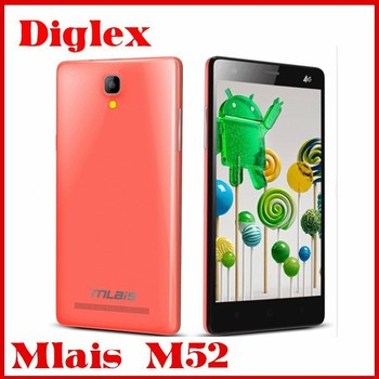 New Cheap Mlais M52 4G LTE 3G Phone Android 5.0 smartphone multilanguage mobile Phone 2+16GB