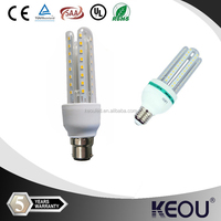 energy saving 2015 top China supplier high lumen PH>0.9 CRI>80 new products 3W 5W 7W 12W smd 2u 3u led bulb led corn bulb