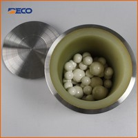 Stainless Steel Encased PU Ball Mill Jar 50ml for Small Planetary Mill