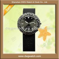 Welcome wholesale new style band slap watch with genuine leather strap DWG-L0035