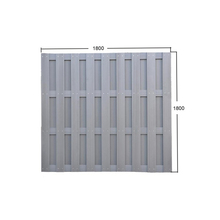 Cheap WPC Garden wood plastic composite fence