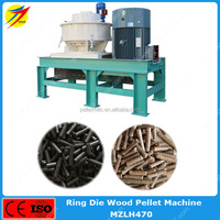 High efficiency wood biomass rice husk pellet making machine for biofuel power plant