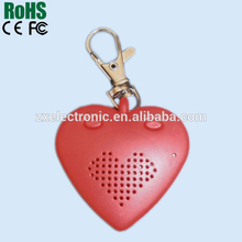 wedding suppliers lovely wedding gift Lovers heart shaped voice recorder
