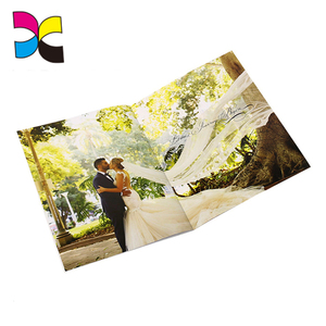 Alibaba new products environmental protection fashion LOGO brand printing custom A5 advertising catalogues
