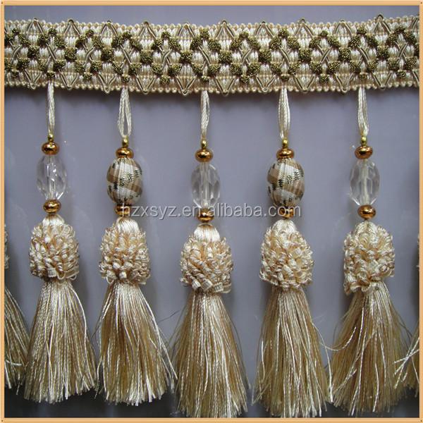 Tassel Fringe To Decorate Curtain Decorative Fringe Trim For Factory Wholesale Buy Decorative