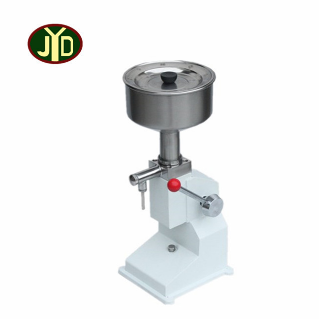 <strong>a03</strong> manual paste peanut butter filling machine or hand pressure paste filler