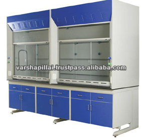 Stainless Steel Fume Hood / Fume Hood For Chemistry Lab