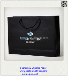 factory sale customized design promotional jewelry advertising paper bags