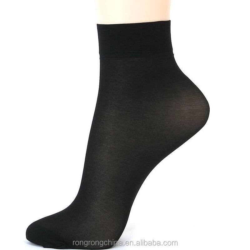 Wholesale stock Lots high quality breathable hot sale men and women ankle silk socks