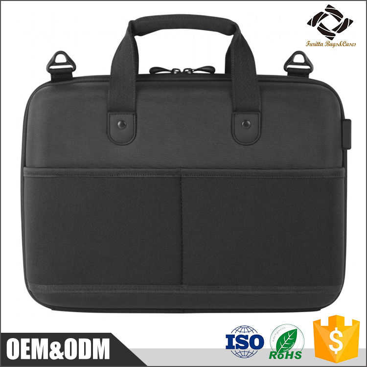 "2016 design good quality customized man and woman 13.3"" 15.4'' inch EVA molded foam laptop bag with handle"