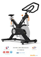 Bailih Spinning Bike Model V8, High End Exercise Bike with Belt Drive, Fitness Bike