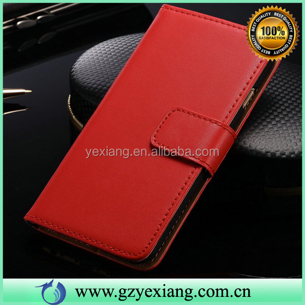 Cheap Price Leather Flip Case For Samsung Galaxy Y S5360 Wallet Cover