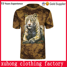 wholesale china full printed sublimation new popular custom creatively designed 3D t shirts