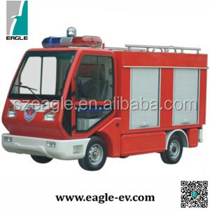 Electric fire engine, water tank, small for narrow place, EG6020F