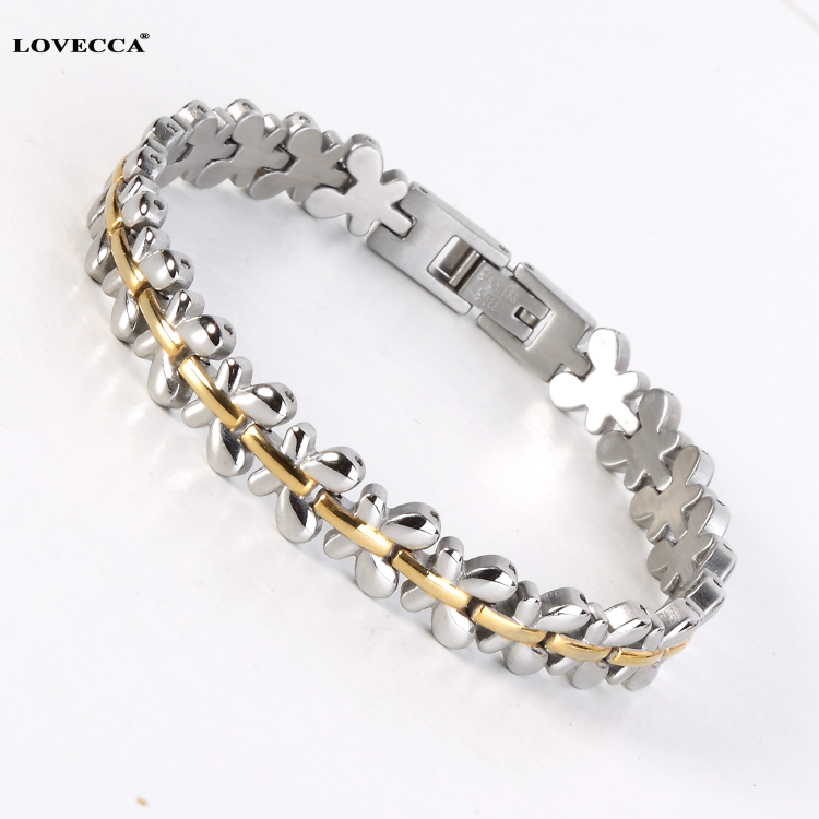 Hot sale Health care jewelry arthritis bangle women stainless steel magnetic bracelet for arthritis
