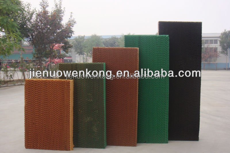 7090 corrugated cellulose evaporative cooling pad