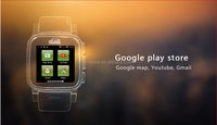 SNOPOW W1S 3G transflective screen IP68 waterproof android 4.4 dual core 1G RAM 8G ROM hebrew language u8 smart watch