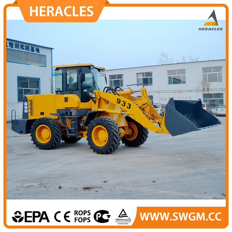 2015 new product heracles hr933f cane loader for sale rc wheel loader in alibaba russia