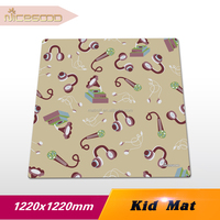 Eco friendly OEM high quality baby rubber play mat