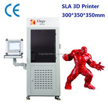 300*350*350mm large size stereolithography 3D printer for prototype & mould making