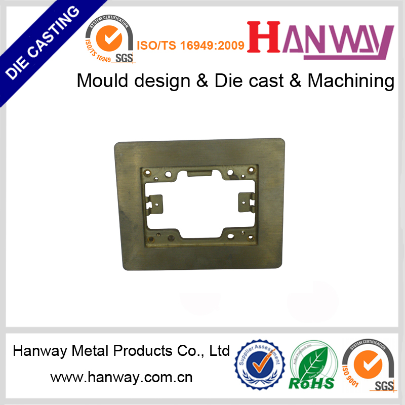 OEM manufacture aluminum die casting electronic parts