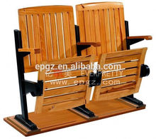 High quality Solid Wood Step Chairs for University Classroom with Low Price.