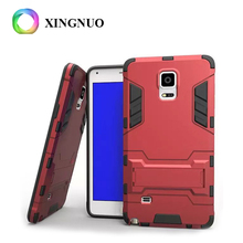 Low Supply High Demand Note 4 Heavy Duty Hard PC Material Kickstand Mobile Phone Case For Samsung Galaxy Note 3 neo n750 n7505