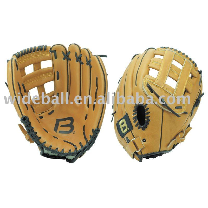 High quality professional leather softball glove