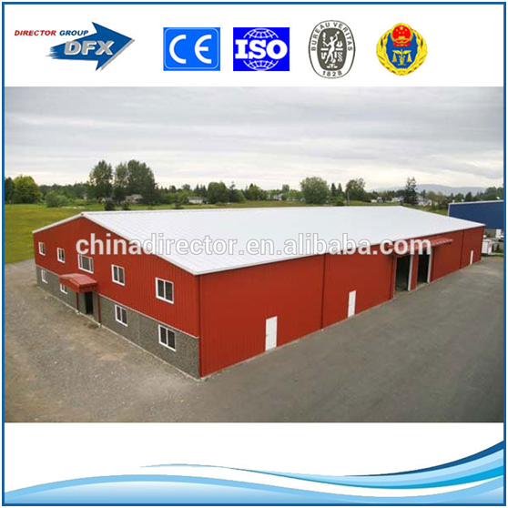 Low Cost Portable Plant Warehouse House Housing Construction With Steel Material