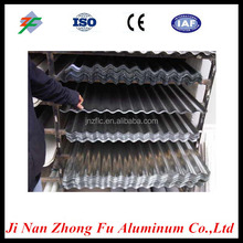 Supply corrugated aluminum roofing sheet 750 820 850 900