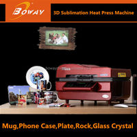 Sublimation Vacuum heat transfer machine 3d printer for metal parts