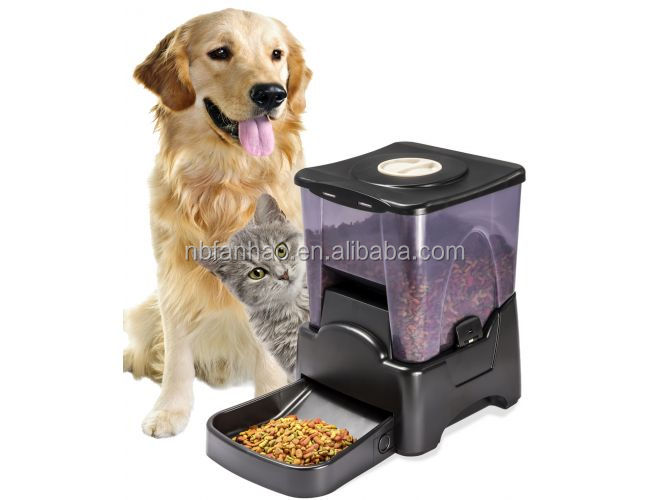 2017 FunPaw Pet Cat Feeder Automatic, Dog Food Dispenser , Cat Food Dispenser