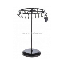 Revolving Earring Countertop Spinner Rack Keychain Display Rack