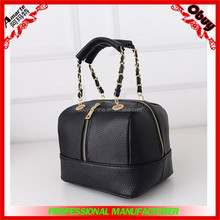fashionable hot candy rattan lady pu leather handbag