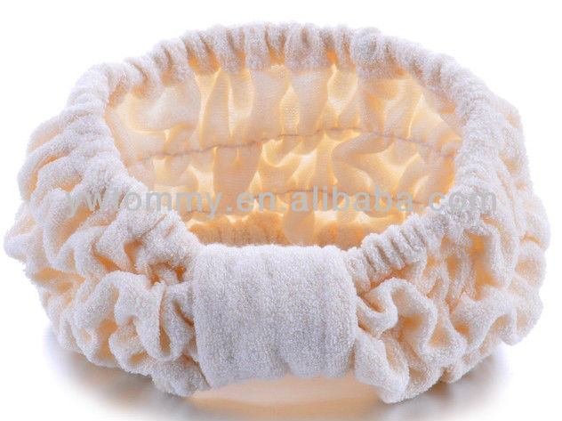 Bamboo fiber Shower Headband